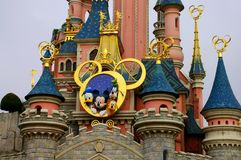 France, Disneyland stock image