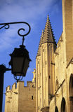France do awinionu papieże pałacu. zdjęcie royalty free