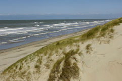 Dune of  Stella Plage in Nord Pas de Calais Royalty Free Stock Photo