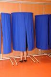 France, election in Les Mureaux Stock Photo
