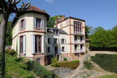 France, Emile Zola house in Medan royalty free stock images