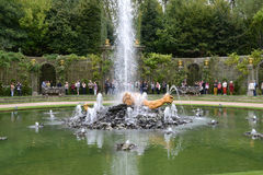 France, Enceladus Grove in the park of  Versailles Palace Royalty Free Stock Photo