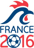 France 2016 Europe Football  Championships Royalty Free Stock Photo