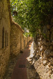 France. Eze-Village town3 Royalty Free Stock Photos
