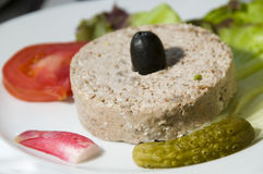 france för aptitretarecorsica mat terrine Royaltyfri Foto