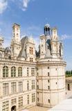 france Fachada do mantimento do castelo de Chambord, 1519 - 1547 anos Fotografia de Stock