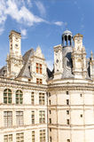 france Fachada do mantimento do castelo de Chambord, 1519 - 1547 anos Presumivelmente o projeto de Leonardo da Vinci Lista do UNE Foto de Stock