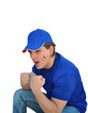 France fan Royalty Free Stock Photo