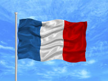 France Flag 1 Royalty Free Stock Image