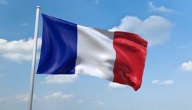 France flag Royalty Free Stock Photos