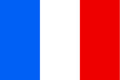 France flag royalty free illustration