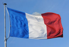 France, flag Stock Image
