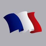 France flag classic culture. Illustration design Stock Photos