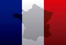 France flag classic culture. Illustration design Stock Images