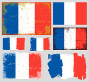 France flag collection vector Stock Photo