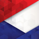 France flag colors abstract background. Royalty Free Stock Photography
