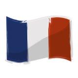 France flag emblem Stock Image