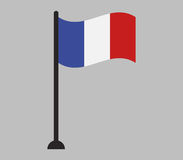 France flag icon illustrated Stock Photo