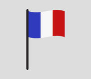 France flag icon illustrated Royalty Free Stock Photo