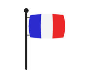 France flag icon illustrated Royalty Free Stock Photos