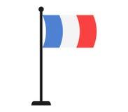 France flag icon illustrated Stock Photo
