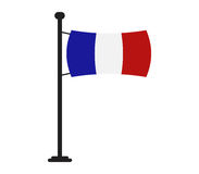 France flag icon illustrated Royalty Free Stock Images