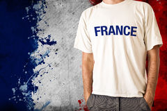 France flag Stock Images