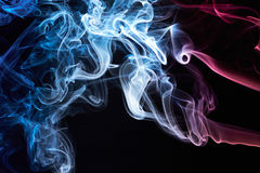 France flag from smoke Stock Images