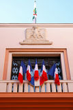 France flags Royalty Free Stock Image