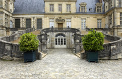 France, Fontainebleau palace Royalty Free Stock Photos