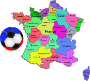 France football Stock Image
