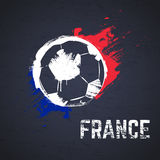France football background Stock Images