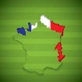 France football Royalty Free Stock Photos
