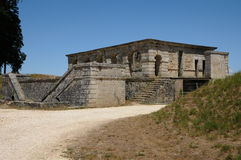 France, Fort Médoc in Cussac Stock Photography