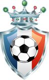 france fotboll Arkivbilder