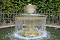 France, a fountain in the Versailles Palace park Royalty Free Stock Photos