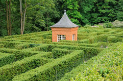France, French formal garden of Breteuil Royalty Free Stock Photos