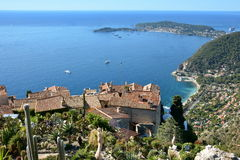 France, french riviera, Eze village, cape Ferrat Royalty Free Stock Photography