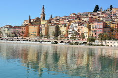 France,french riviera, Menton, the old town Stock Photo