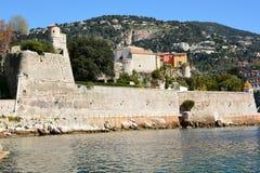 France, french riviera, villefranche/mer, La Citadelle Stock Image