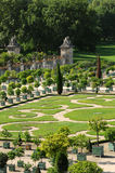 France, garden of the Versailles palace Orangery Royalty Free Stock Photography