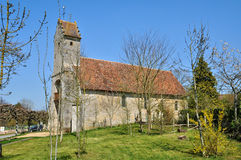 France, Gemages Saint Martin church in Normandie Stock Images