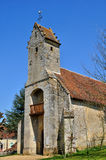 France, Gemages Saint Martin church in Normandie Stock Image