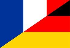 france germany flag Stock Image