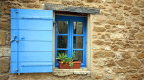 France - Gigondas. In a center of a village in Provence (South of France stock photo