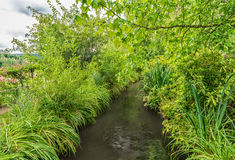 France Giverny Monet's garden on a spring day Royalty Free Stock Photo