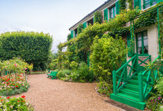 France Giverny Monet's garden on a spring day Royalty Free Stock Photos
