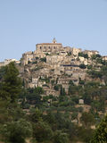 france gordes Arkivfoton