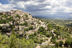 france gordes Royaltyfria Bilder