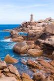France, Granite Coast Royalty Free Stock Photo